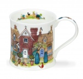 WESSEX -Cottage Row Brick -porcelana