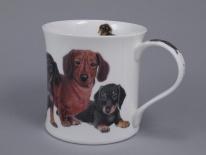 WESSEX Designer Dogs -Dachshunds -porcelana