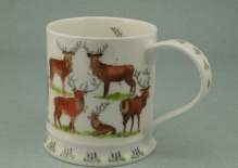 IONA Wild Country Stag -porcelana