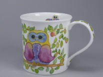 BUTE Wise Owls Tree - porcelana