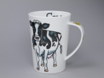 ARGYLL Cow -porcelana