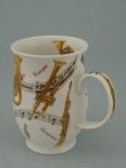 SUFFOLK Instrumental Trumpet -porcelana