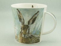 CAINGORM Animals on Canvas Hare -porcelana