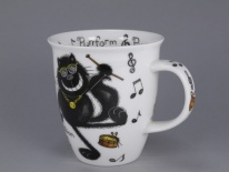 NEVIS Purrfect Cats Purrcussion - porcelana