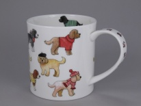 ORKNEY Dashing Dogs Cockapoo - porcelana