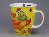 NEVIS Barmy Farmy Chicken -porcelana