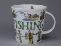 CAIRNGORM Sporting Antics Fishing - porcelana