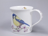 BUTE Hedgerow Birds Cherry Blossom- porcelana