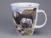 NEVIS Country Life Sheep - porcelana