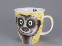 NEVIS Go Wild Meerkat- porcelana
