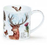 ORKNEY - Scottish Notebook Stag - porcelana