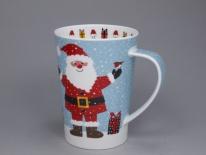 ARGYLL Snow Flurry Santa-porcelana