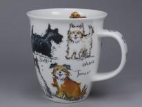 NEVIS Messy Dogs -porcelana