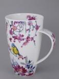 HENLEY Birdsong Yellow Bird -porcelana