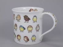 BUTE Little Chicks Garden Birds- porcelana