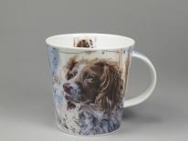 CAIRNGORM Dogs on Canvas Springer -porcelana