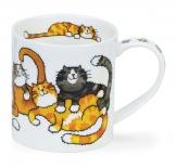ORKNEY -Jumbled Cats -porcelana
