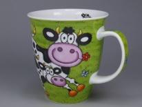 NEVIS Barmy Farmy Cow -porcelana