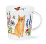 LOMOND -Floral Cats Ginger -porcelana