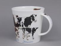 CAIRNGORM Farmyard Cows-porcelana
