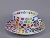 BREAKFAST Hot Spots -porcelana 0,45 l