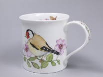 BUTE Hedgerow Birds Dog Rose- porcelana