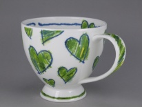SKYE Amora Green -porcelana