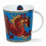 LOMOND -Dragon Blue -porcelana