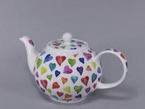 CZAJNIK MAŁY Warm Hearts -porcelana (0,75 l)