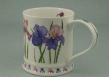 IONA Garden Flowers Irises -porcelana